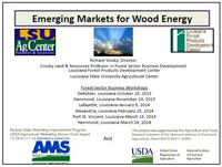 Wood Energy Presentation